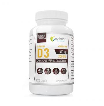 ნატურალური D3 ვიტამინი 6000 IU + პრებიოტიკი + L-Leucine (40 დოზა) - Ketogen.ge