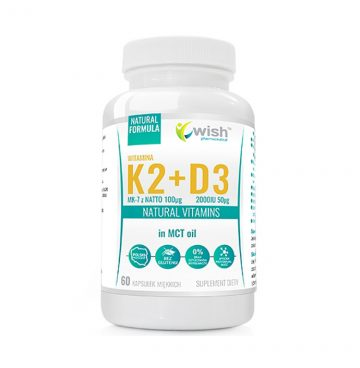 D3 ვიტამინი 6000 IU + K2 ვიტამინი 300 მკგ (20 დოზა) - Ketogen.ge